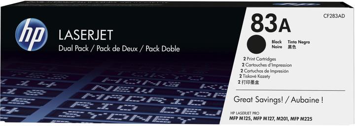 HP 83A Black dual pack