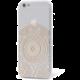 EPICO pružný plastový kryt pro iPhone 6/6S HOCO TOTEM - transparentní bílá