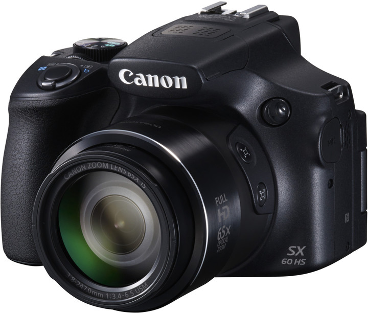 Canon PowerShot SX60 HS, černá