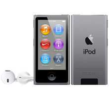 Apple iPod Nano - 16GB, šedá, 7th gen. - MKN52HC/A
