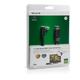 Belkin HDMI/HDMI HighSpeed 3D s Ethernetem, boční 90°, zlacený, 2m