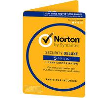Symantec Norton Security Deluxe 3.0 CZ 1 uživatel, 5 zařízení, 1 rok - 21357140
