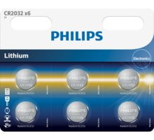 Philips CR2032 - 6ks - CR2032P6/01B