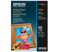 Epson Photo Paper Glossy, 13x18 cm, 50 listů, 200g/m2, lesklý - C13S042545