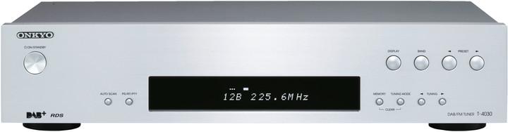 Onkyo T-4030, stříbrná