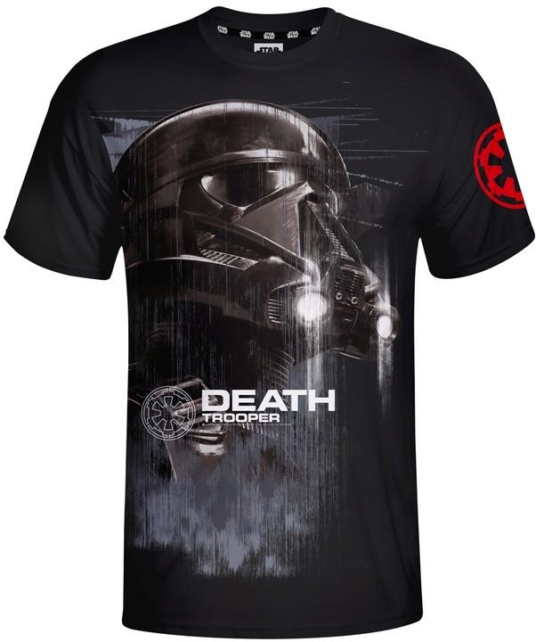 Star Wars - Death Trooper, černé (L)
