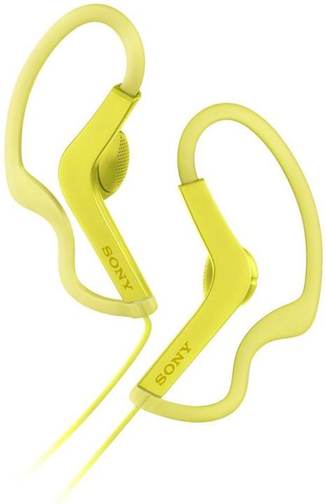 Sony MDR-AS210A, žlutá