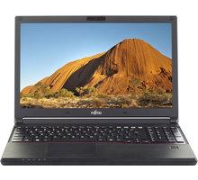 Fujitsu Lifebook E554, černá - VFY:E5540M2551CZ