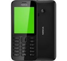 Nokia 222, Single Sim, černá + Zdarma CulCharge MicroUSB kabel - přívěsek (v ceně 249,-)