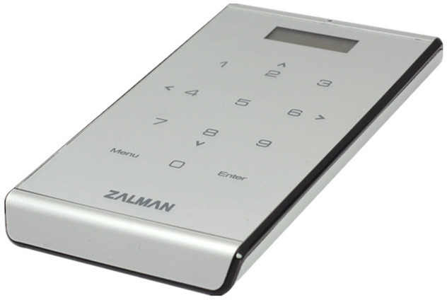 Zalman ZM-VE500, stříbrná