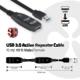 Club3D USB 3.0 SuperSpeed, 5Gbps, aktivní USB prodlužka, 15m
