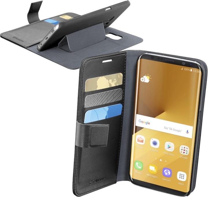 CellularLine Book Agenda pouzdro typu kniha pro Samsung Galaxy S8 Plus, černé