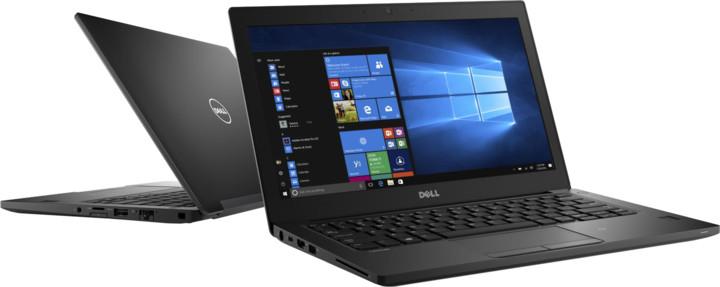 Dell Latitude 12 (7280), černá