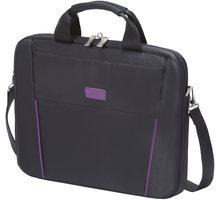 """DICOTA Slim Case BASE 12-13.3"""", černá/fialová - D30996"""