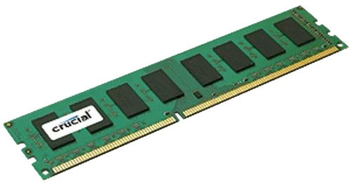 Crucial 4GB DDR3L 1600 Dual Voltage
