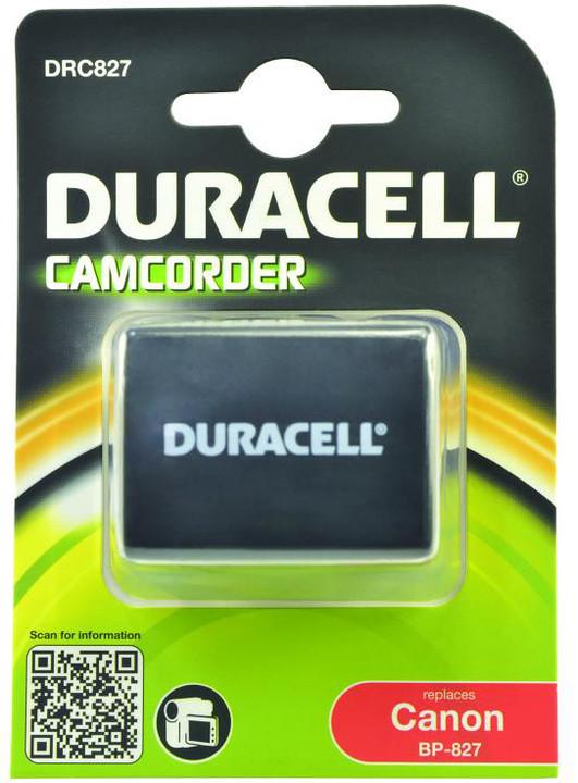 Duracell baterie alternativní pro Canon BP-827