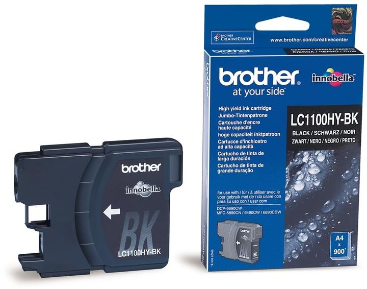 Brother LC-1100HYBK, černá