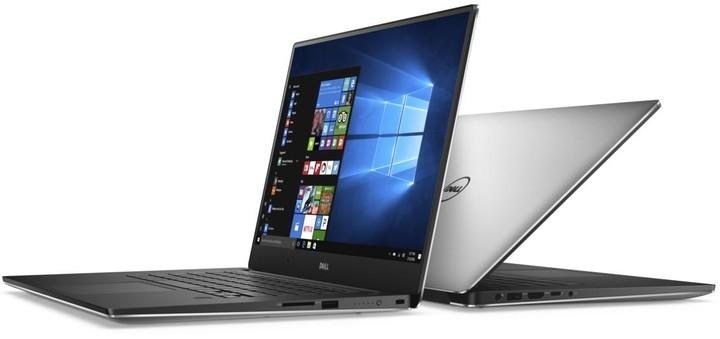 Dell XPS 15 (9560) Touch, stříbrná