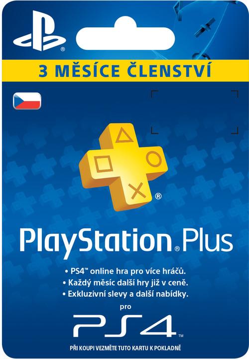 Playstation Plus Card - 90 dní