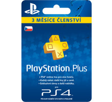 Playstation Plus Card - 90 dní - PS719810742