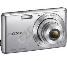 Sony Cybershot DSC-W620S, stříbrná