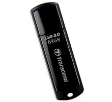 Transcend JetFlash 700 64GB, černý - TS64GJF700