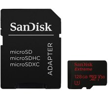 SanDisk Micro SDXC Extreme 128GB 90MB/s UHS-I U3 - SDSQXVF-128G-GN6AA