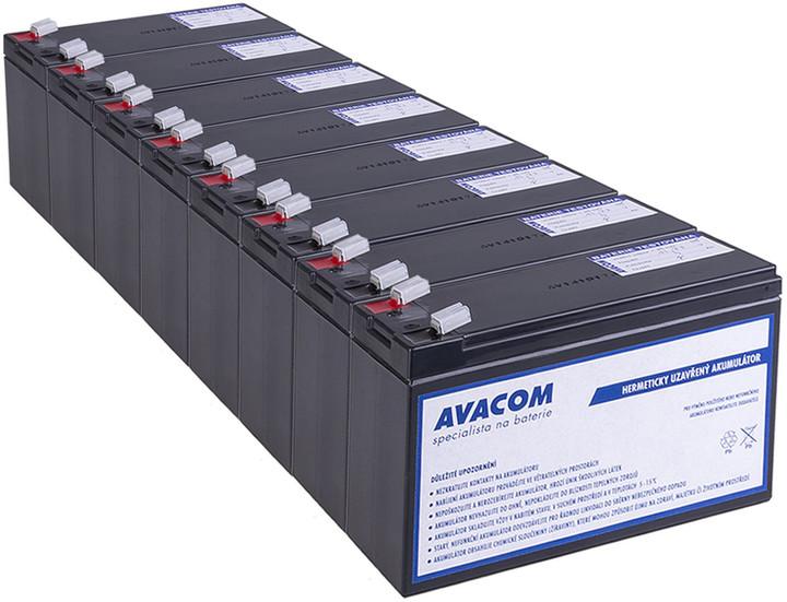 Avacom náhrada za RBC27 - baterie pro UPS (8ks)