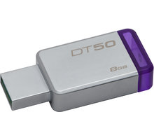 Kingston DataTraveler 50 - 8GB, fialová - DT50/8GB