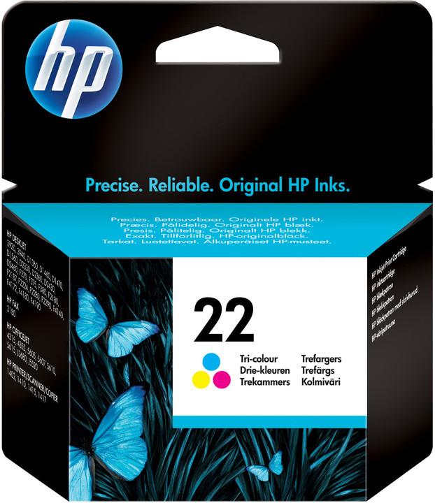 HP C9352A, no. 22, barevná