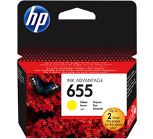 HP 655 yellow - CZ112AE