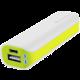 GoGEN powerbank 2600 mAh, bílo-zelená
