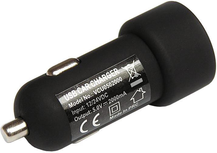 DC AUTODOBÍJEČKA PRÉMIUM S 1 x USB VÝSTUPEM (2A)
