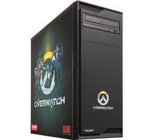 HAL3000 Overwatch, černá - PCHS21371 + Kupon hra dle vlastního výběru: For Honor, Tom Clancy´s Ghost Recon v ceně 1499,- Kč