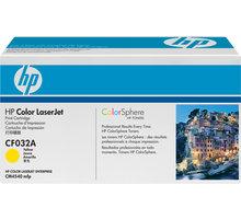 HP CF032A, žlutý