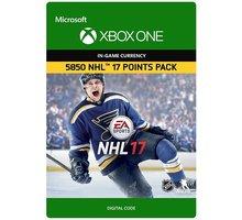 NHL 17 - 5850 NHL Points (Xbox ONE) - elektronicky - 7F6-00066