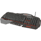 Trust GXT 850 Metal Gaming Keyboard, UK