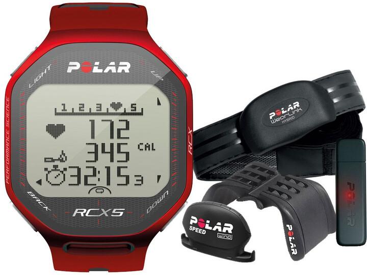 Polar RCX5 Red bike (CYKLO), vč. interface DataLink