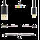 AXAGON BUMM-AM30QW, HQ Kabel Micro USB - USB A, datový a nabíjecí 2A, bílý, 3 m