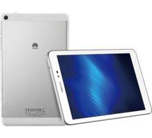 "Huawei T1 8"" - 8GB, stříbrná - TA-T180W8SOM + Zdarma GSM reproduktor Accent Funky Sound, červená (v ceně 299,-)"