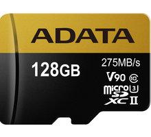ADATA Micro SDXC Premier One 128GB UHS-II U3 - AUSDX128GUII3CL10-C