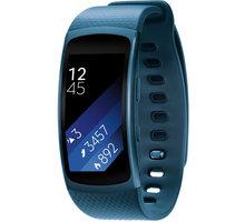 Samsung Galaxy Gear Fit 2, velikost L, modrá - SM-R3600ZBAXEZ