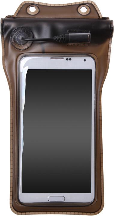 """CONNECT IT M9 vodotěsné pouzdro na telefon do 4,8"""" s audio jack výstupem"""