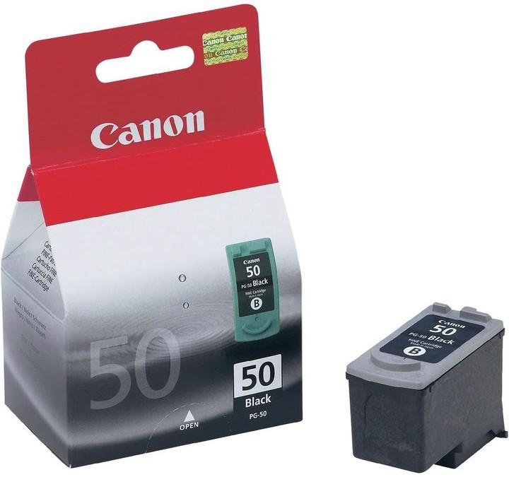 Canon PG-50, černá