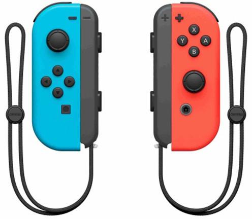 Nintendo Joy-Con (pár), modrý/červený (SWITCH) + Snipperclips