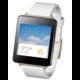 LG G Watch W100, bílá