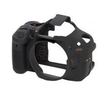 Easy Cover silikonový obal pro Canon 600D, černá - ECC600D