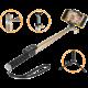 GoGEN 4 Selfie tyč teleskopická, bluetooth, zlatá
