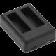 Niceboy duální externí nabíječka pro baterii GoPro 4