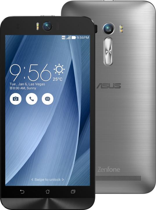 ASUS ZenFone Selfie ZD551KL, stříbrná/šedá